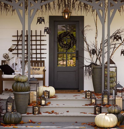 Pottery barn front porch