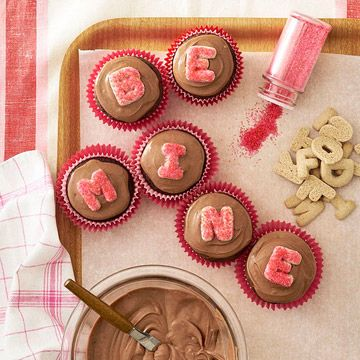 Bhg be mine cupcakes