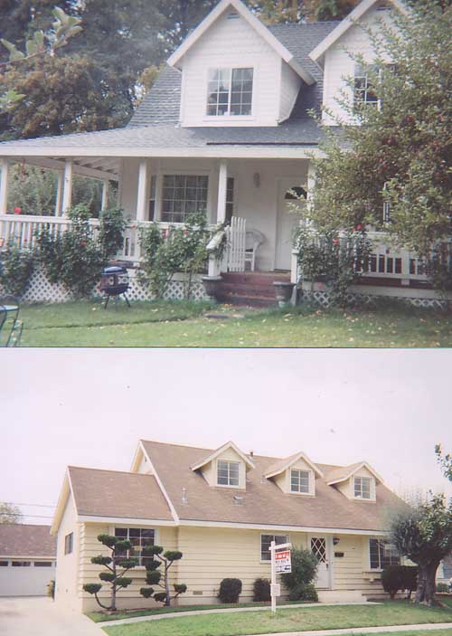 Cape Cod Style houses