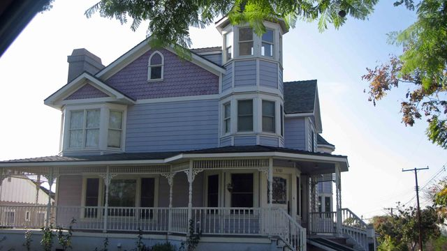 Queen Anne victorian in Uptown Whittier, Calif