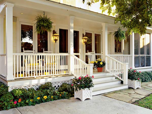 Wide Front Porch