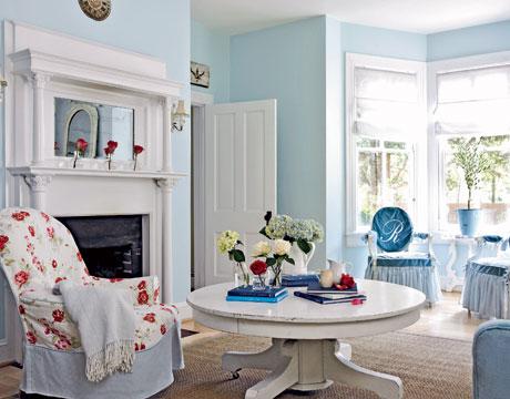 Living Room Design by Carrie Raphael