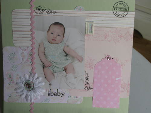 Kenzie's 3 mo. Baby Page
