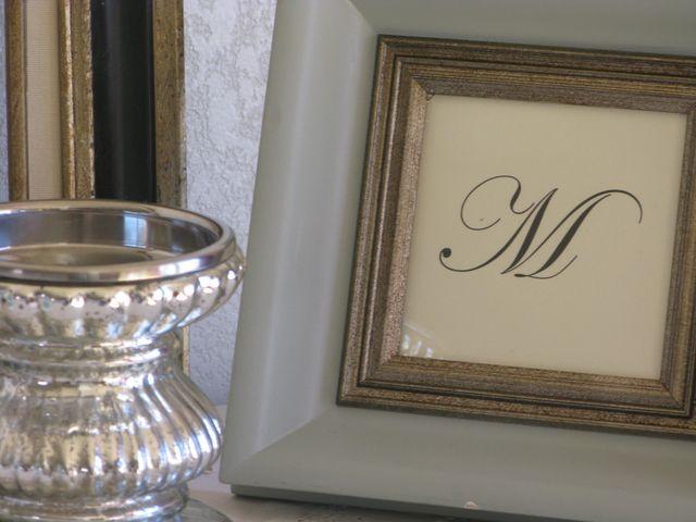 Monagram in Frame