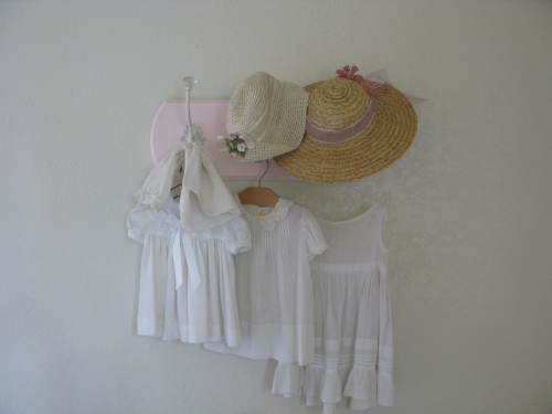 the Antique Baby Dress Rack