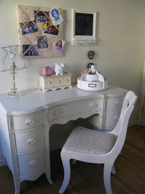 the shabby chic desk