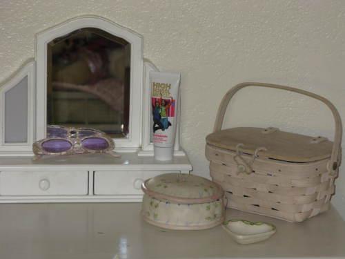 Her nightstand