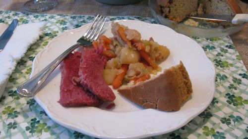 Crock Pot Corned Beef with root veggies