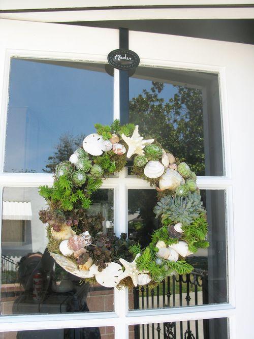 Shell-succulent Wreath