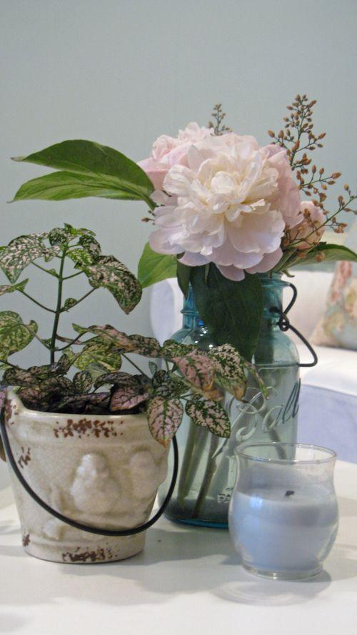 Vignette on coffee table